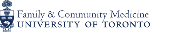 University of Toronto Faculty of Family and Community Medicine